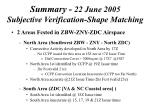 summary 22 june 2005 subjective verification shape matching