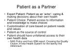 patient as a partner10