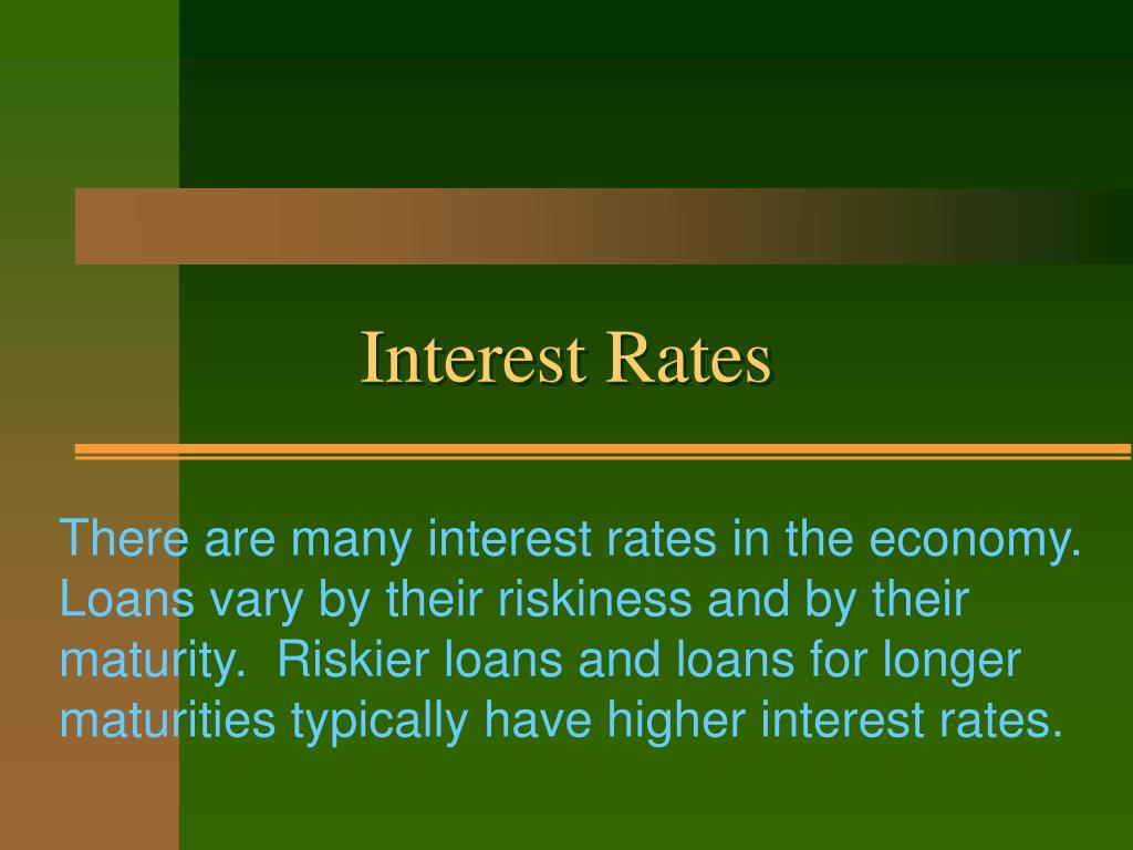 interest rates l.