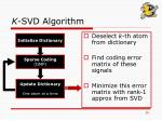 k svd algorithm10