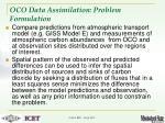 oco data assimilation problem formulation