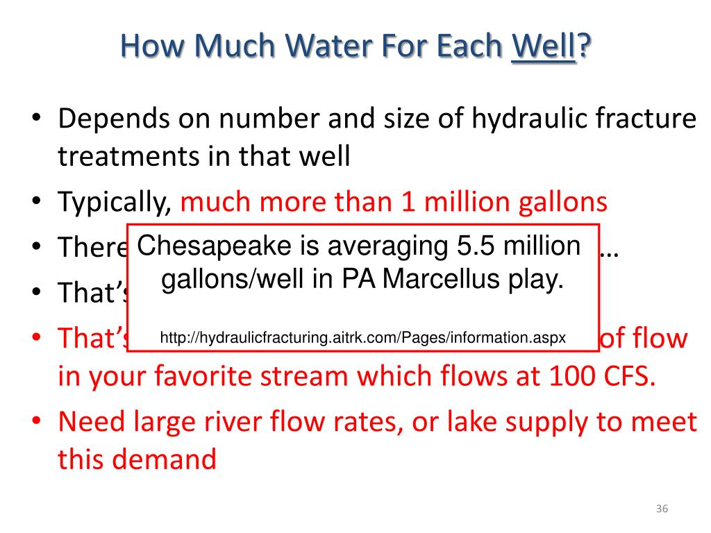 How Much Water For Each