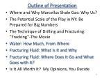 outline of presentation35