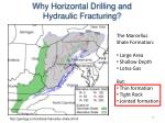 why horizontal drilling and hydraulic fracturing