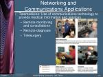 networking and communications applications13