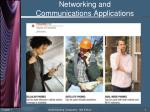 networking and communications applications7