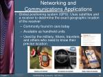 networking and communications applications9