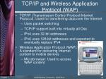 tcp ip and wireless application protocol wap