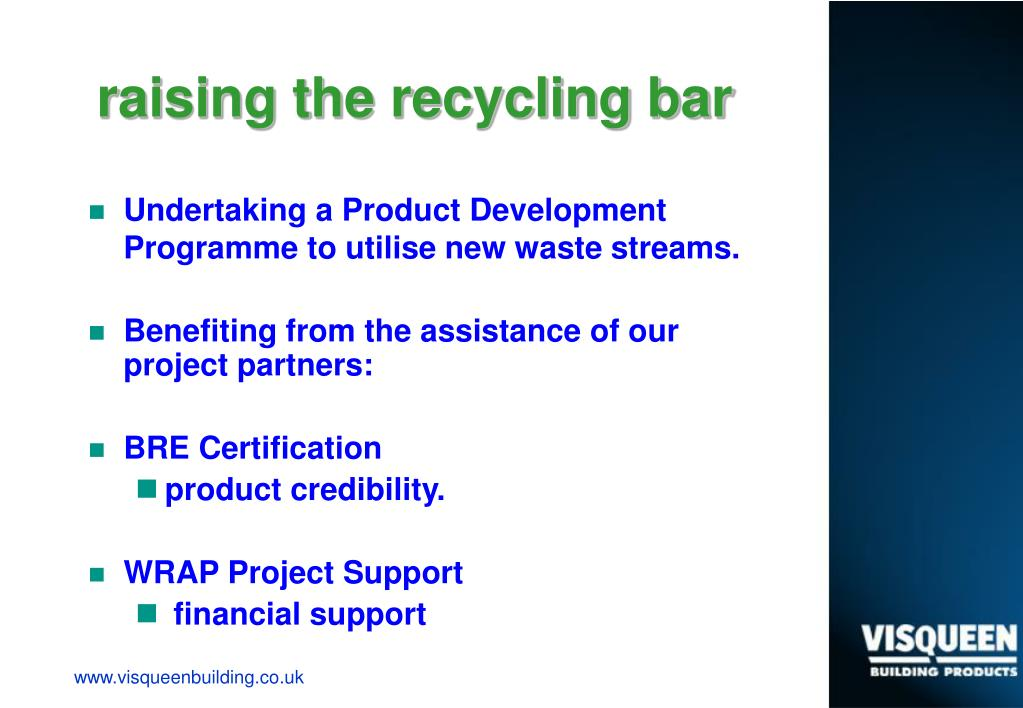 raising the recycling bar