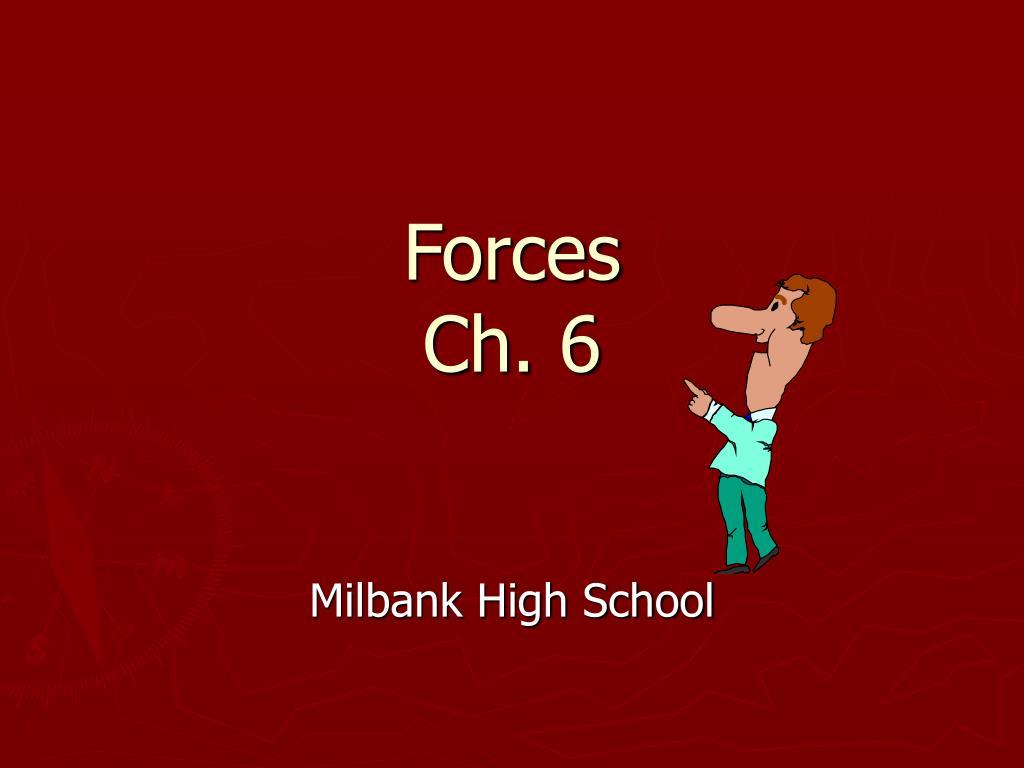 forces ch 6 l.