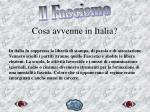 cosa avvenne in italia