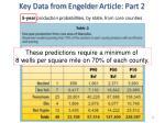 key data from engelder article part 2