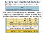 key data from engelder article part 3