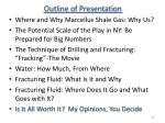outline of presentation63