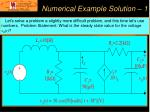 numerical example solution 1