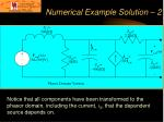 numerical example solution 2