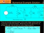 numerical example solution 3
