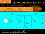 numerical example solution 6