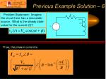 previous example solution 6