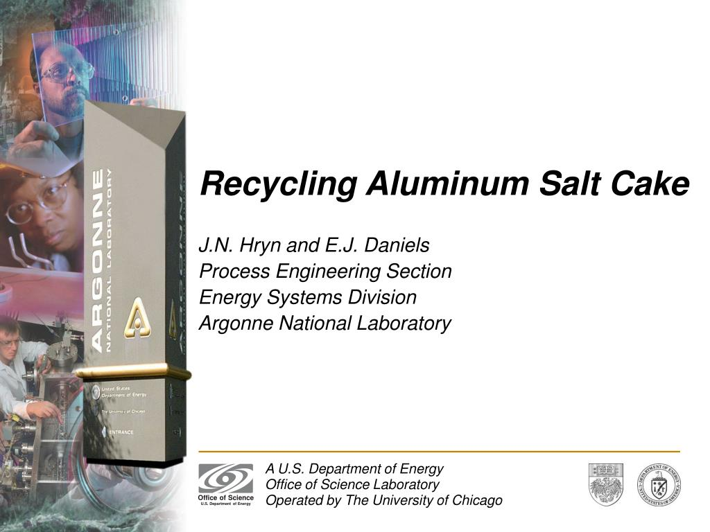recycling aluminum salt cake l.