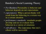 bandura s social learning theory