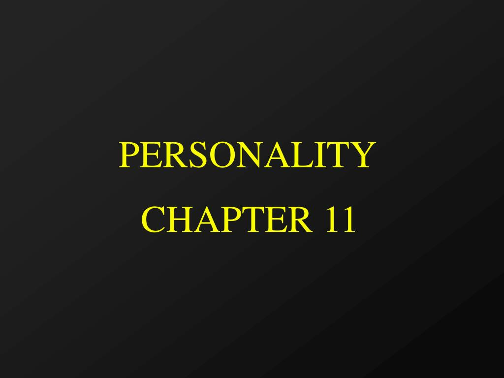 personality l.