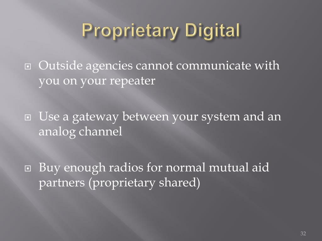 Proprietary Digital
