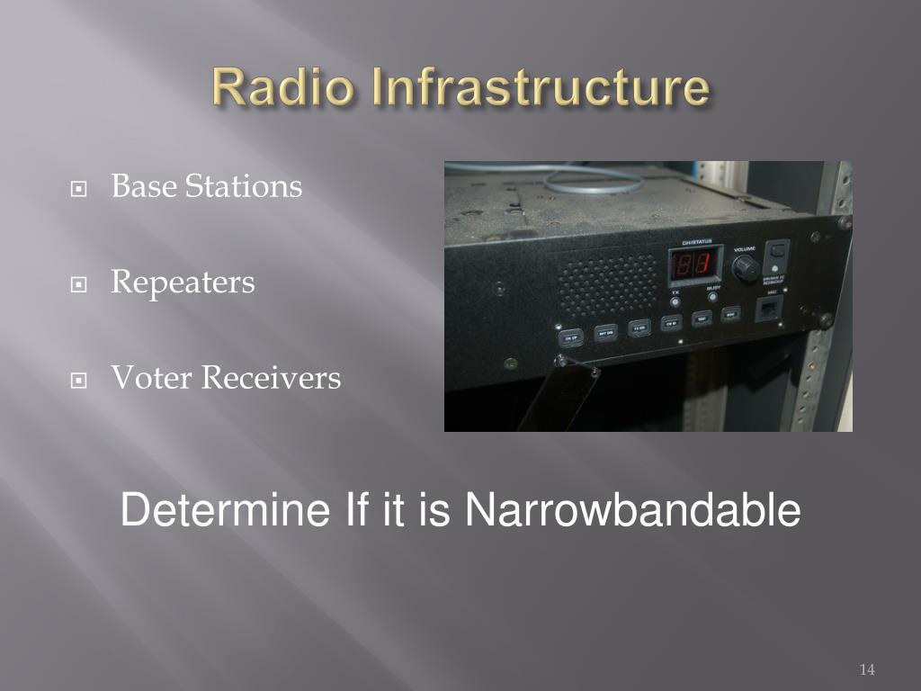 Radio Infrastructure