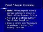 parent advisory committee4