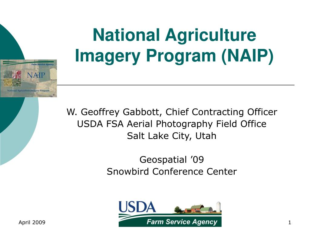 national agriculture imagery program naip l.