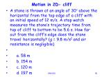 motion in 2d cliff91