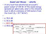 sound and waves whistle5