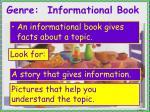 genre informational book