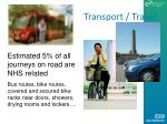 transport travel