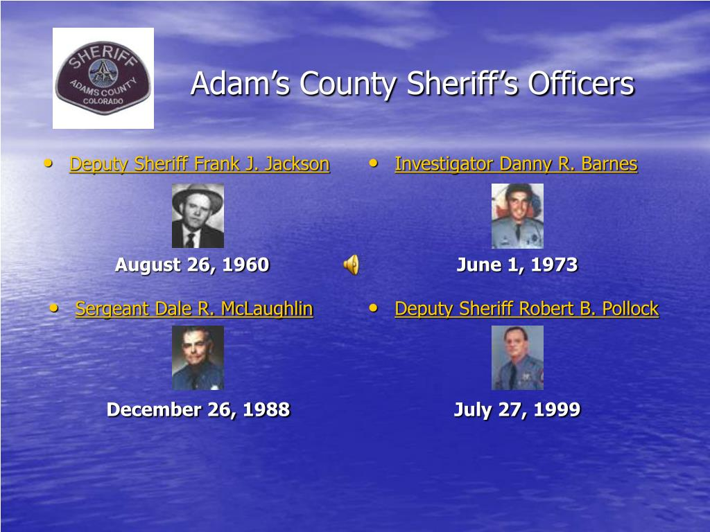 adam s county sheriff s officers l.