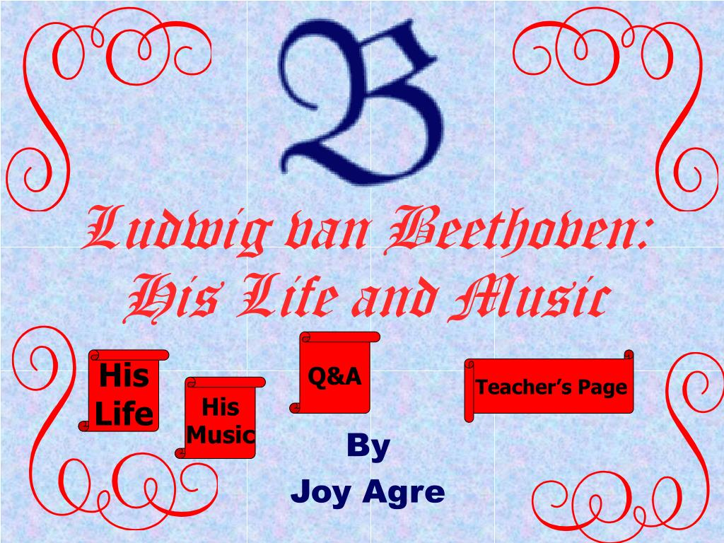 ludwig van beethoven his life and music l.