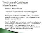 the state of caribbean microfinance14