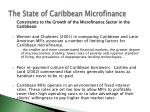 the state of caribbean microfinance15