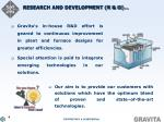 research and development r d