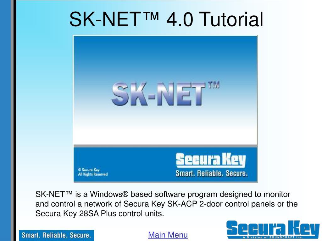 sk net 4 0 tutorial l.