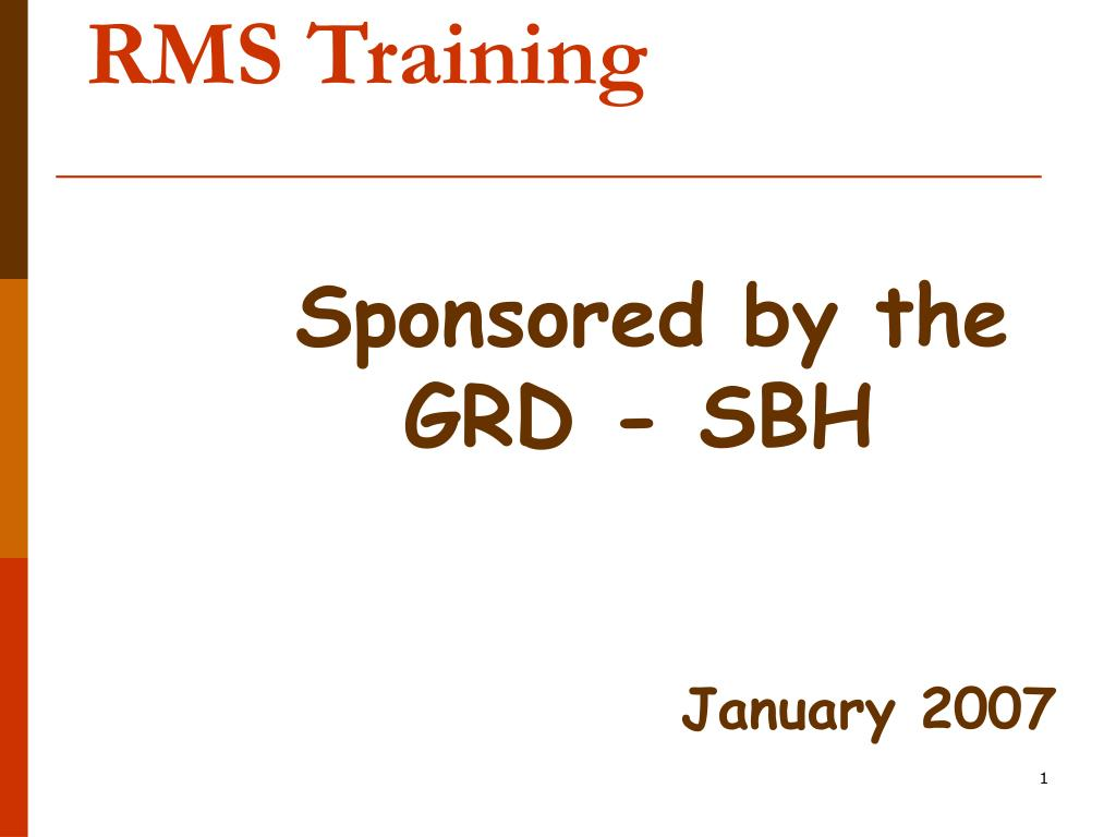 rms training l.