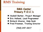 rms training3
