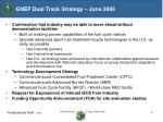 gnep dual track strategy june 2006