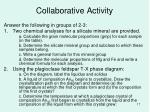 collaborative activity