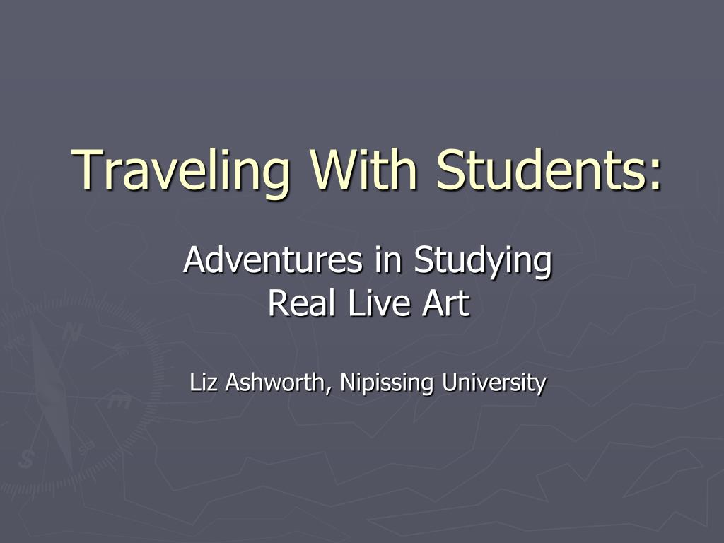 traveling with students l.
