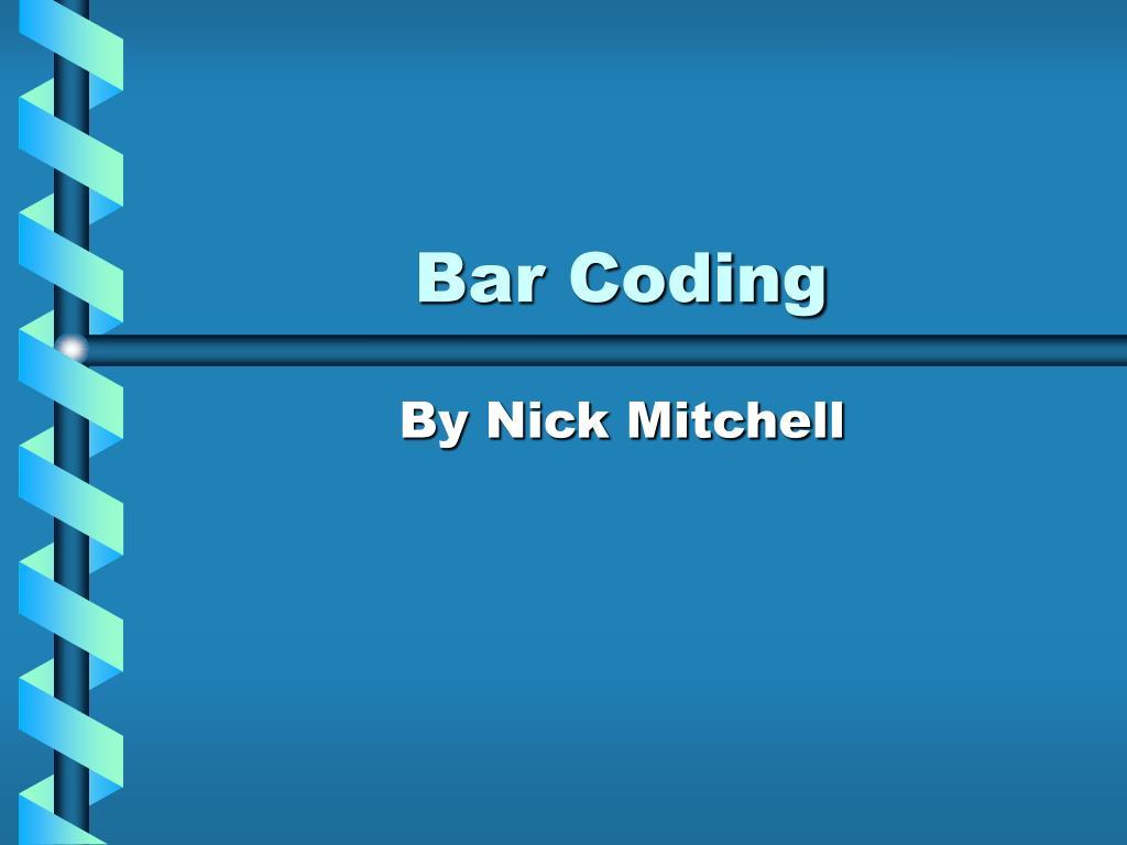 bar coding l.