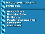 where you may find barcodes