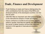 trade finance and development