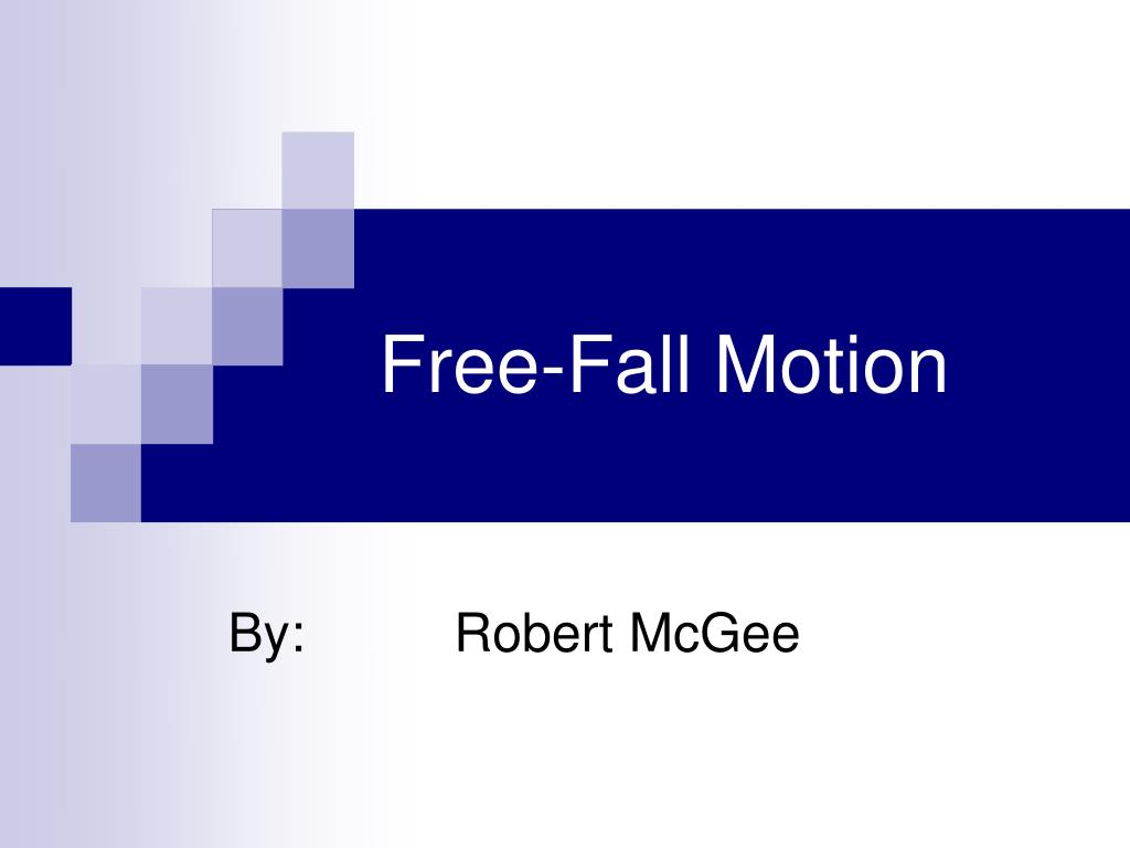 free fall motion l.