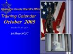 charleston county sheriff s office training calendar3